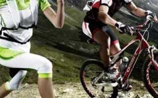 Бег или велосипед, что лучше