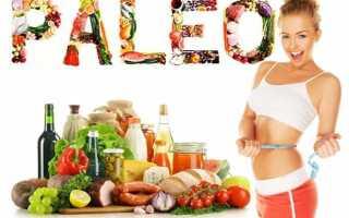 Палео диета: меню на неделю, со списком разрешенных и запрещенных продуктов