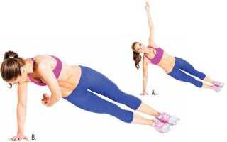 Динамическая планка: как прокачать практически все тело, уделяя всего лишь 5 минут в день одному упражнению