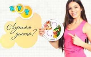 БУЧ диета (белково-углеводное чередование) для похудения дома