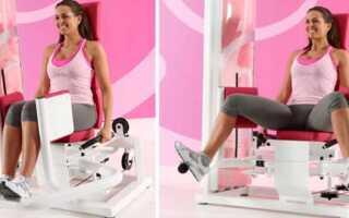 Разведение ног в тренажере: польза и результат