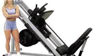 Приседания в гакк тренажере: техника выполнения классических и обратных занятий в машине Георга Гаккеншмидта со штангой и без