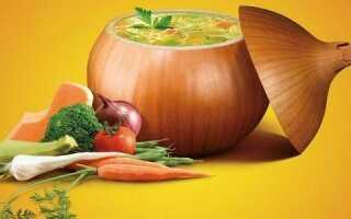 Диетический луковый суп для похудения: польза при похудении, рецепты и меню на неделю