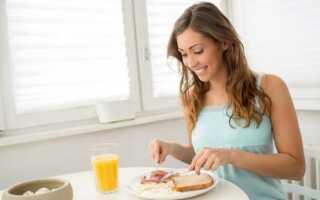 Вкусный здоровый завтрак спортсмена