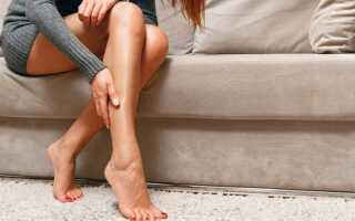 Судороги в икроножных мышцах: причины и лечение
