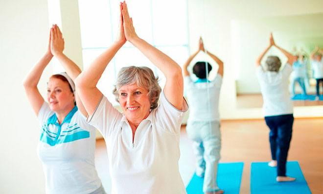 В этом возрасте гимнастика имеет большое значение для укрепления здоровья и помогает увеличить продолжительность активной трудовой жизни.