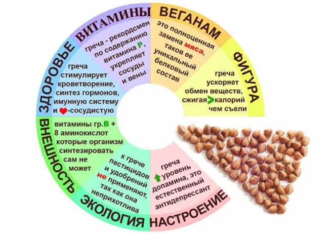 Зеленую или коричневую крупу нужно не варить, а упаривать.