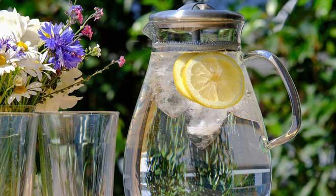 В данной диете требуется выпивать большой объем воды за пол часа перед приемами пищи.