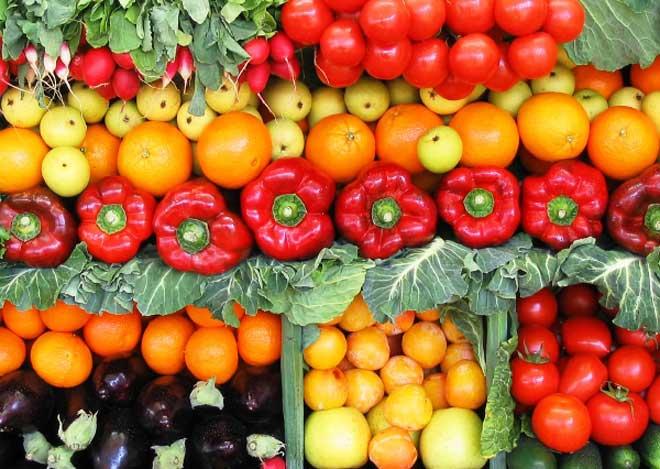 Общая суточная норма овощей должна составлять примерно 1,5 кг.