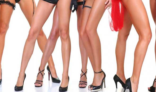 У идеальной девушки ножки не только подкачанные, но и стройные.