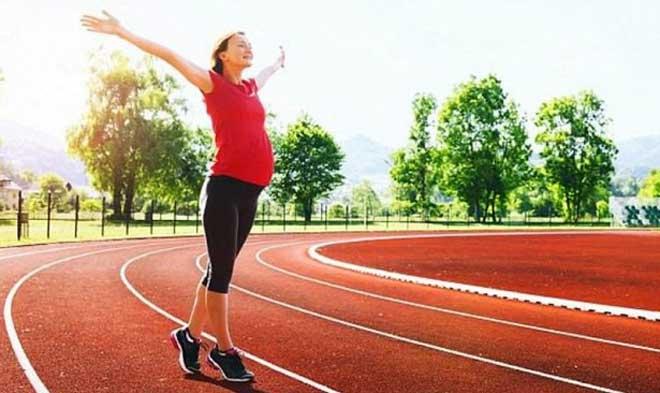 Спокойный бег помогает снять физическое и психическое напряжение.