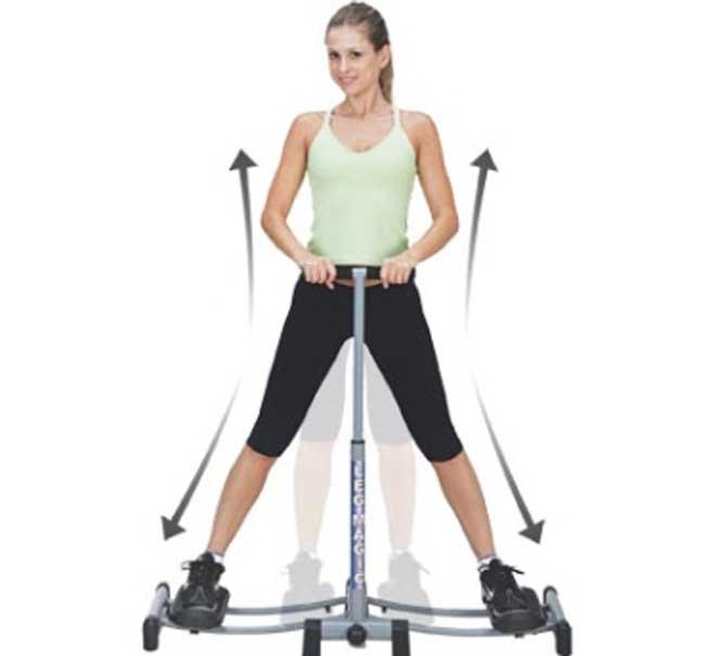 Для того чтобы во время упражнения ягодичная мышца прорабатывалась полностью, попробуйте изменять угол наклона вашего корпуса.