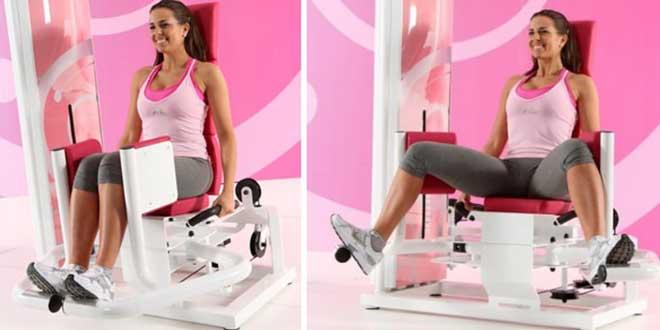 Разведение ног в тренажере – это популярное упражнение для проработки боковой поверхности ягодиц.